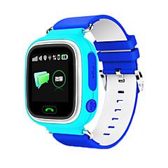 Unisex Digital GPS Watch Gummi Band Stämpla-