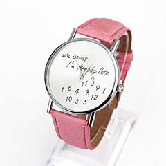 Women's Fashion Dial PU Deather Dtrap Datch Digital Design Cool Watches Unique Watches