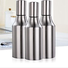500ml Kitchen Stainless Steel Leakproof Oil Drop Pot Sauce Vinegar Bottle