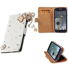 Luxury Bling Crystal & Diamond Leather Flip Bag For SamsungGalaxyGalaxyS2/ S3/S4/S5/S6/S6E/S7/S6E PLUS