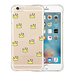 Imperial Crown Soft Transparent Silicone Back Case for iPhone 6/6S (Assorted Colors)