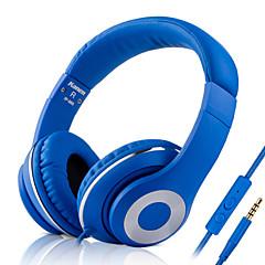 3,5 mm stik kablede hovedtelefoner (pandebånd) for media player / tablet | mobiltelefon | computer