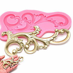 Silicone  Vintage Relief Flourish  Cake Mold Sugarcraft Fondant Cake Decorating Tool Mould