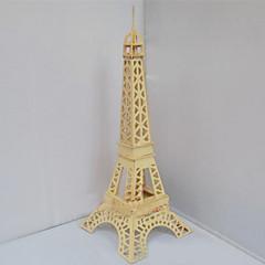 3 차원 파리에서 입체 퍼즐 교육 장난감 나무 시뮬레이션 모드 쿼드 에펠 탑 퍼즐