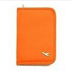 Reisepasshülle & Ausweishülle Multi-Funktion Kulturtasche für Multi-Funktion KulturtascheSchwarz Orange Grau Rot