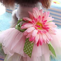 Perros Vestidos Rosado Verano / Primavera/Otoño Clásico Boda / Navidad / San Valentín / Moda, Dog Clothes / Dog Clothing-Lovoyager