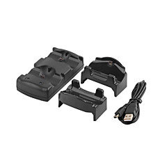 3 i 1 oplader dock station står for sony ps3 / flytte PS4 controller