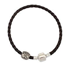 Women's European Style Fashion Simple Rope Beaded Charm Bracelets