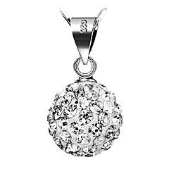 Damskie Naszyjniki z wisiorkami Srebro standardowe Kamienie zodiakalne Silver Biżuteria Na Codzienny Casual 1szt