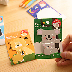Animal Parent-child Self-Stick Notes(1 PCS)