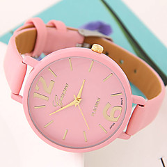 Women's European Style Fashion Wild Candy-colored Casual Wrist Watch Cool Watches Unique Watches