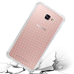 For Samsung Galaxy Case Shockproof / Transparent Case Back Cover Case Solid Color TPU Samsung A7(2016) / A5(2016) / A9 / A8