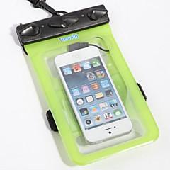 방수 가방 드라이 박스 방수 핸드폰 다이빙 & 스노쿨링 PVC 블랙