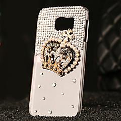 ylellinen muovi timantti etsiä takakannen Samsung Galaxy S6 / galaxy S6 reuna / galaxy s6 reuna plus