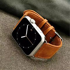 Newest Crazy Horse Watchband Simple PU for iWatch Watchband 38mm/42mm Assorted Colors