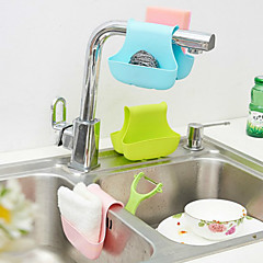 canasta de almacenamiento de silicona disipador de rejilla cesta colgante gota cocina baño aseo llevando cestas