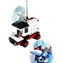 dr ruimte auto 6702, le merk bouwstenen ruimte monteren van lego verdraaid speelgoed voor kinderen ei