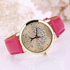 Women's Leather Band Life of Tree  Case Wrist Watch Cool Watches Unique Watches