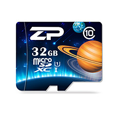 ZP 32GB TF cartão Micro SD cartão de memória UHS-I U1 class10