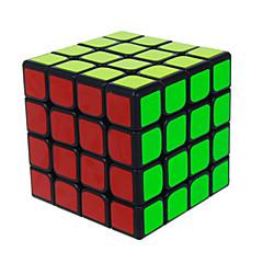 Let Glidende Speedcube 4*4*4 Hastighed Magiske terninger Sort Fade ABS
