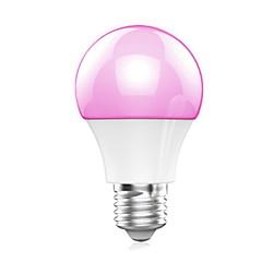 5W E26/E27 LED-älyvalot A60(A19) 10 SMD 5050 400LM lm Lämmin valkoinen / RGB Bluetooth AC 100-240 V 1 kpl