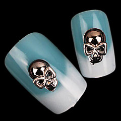 Nail Art-dekoration Strasspärlor makeup Kosmetisk Nail Art-design