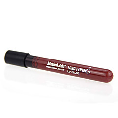 Lipgloss Nat Gel Doorschijnende Lipgloss / Gekleurde Lipgloss / Vochtigheid / Naturel Zilver / Orange 1