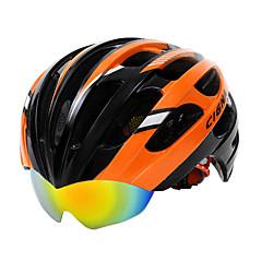 Berg / Weg - Fietsen / Bergracen / Wegwielrennen - Helm ( Geel / Groen / Rood / Blauw / Oranje , Koolstofvezel + EPS ) - voor Unisex 27