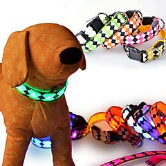 Gatos / Perros Collares Rojo / Naranja / Amarillo / Verde / Azul / Blanco / Rosado Ropa para Perro Invierno / Verano / Primavera/OtoñoUn