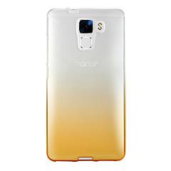 Fekete tok Áttetsző Színpompás TPU Mekano Tok HuaweiHuawei P9 / Huawei P9 Lite / Huawei P9 Plus / Huawei Honor 8 / Huawei Honor 7 /