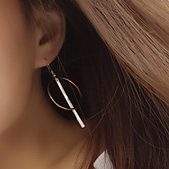 Naisten Niittikorvakorut Korvarenkaat minimalistisesta Eurooppalainen pukukorut Kupari Circle Shape Geometric Shape Korut Käyttötarkoitus
