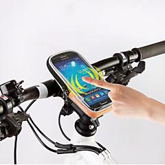 ROSWHEEL® Bike BagBike Handlebar Bag Waterproof Zipper Moistureproof Shockproof Wearable Bicycle Bag PVC Terylene Cycle BagIphone