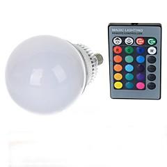 10W E14 LED-bollampen A70 1 Krachtige LED 600-900 lm RGB Op afstand bedienbaar AC 85-265 V 1 stuks