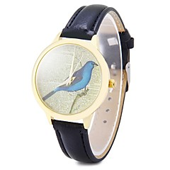 Women's Fashion Watch Casual Watch Quartz Leather Band Vintage Black White Blue Red