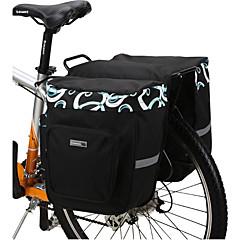 Kerékpáros táska 30LTúratáska csomagtartóra/Kétoldalas túratáska Vízálló Viselhető Ütésálló Kerékpáros táska Mesh Kerékpáros táska