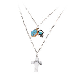 MOGE New Fashion Lady Pendant Necklace / Wedding / Party / Daily / Casual