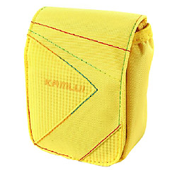 S Size Camera Case for Casio zr1000/zr1200/rx100  7.5*3*9 Yellow