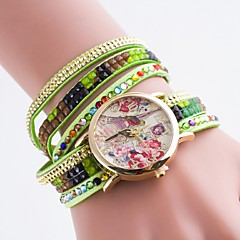 dames ongedwongen horloge diamanten band armband horloge quartz horloge wijzerplaat bronzing Eiffel