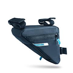ROSWHEEL® Bike Bag 1.2LBike Frame Bag Waterproof Zipper / Moistureproof / Shockproof / Wearable Bicycle Bag PU Leather / 400D NylonCycle