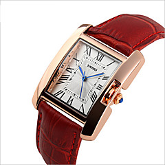 Women Fashion Trend In Students Ms Han Edition Leather High-Grade Quartz Watch