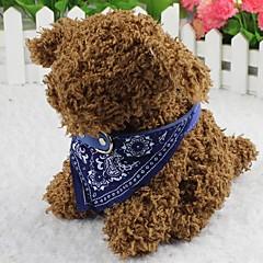 katten / honden Bandana halsband Modieus Bloem Rood / Zwart / Blauw Stof