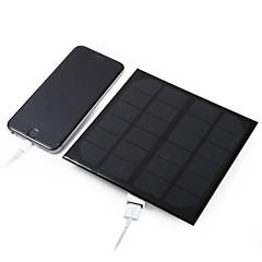 3w 5v panel solar salida USB del silicio monocristalino de bricolaje