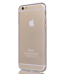 Til Etui iPhone 7 Etui iPhone 7 Plus Etui iPhone 6 Etui iPhone 6 Plus Gjennomsiktig Etui Bakdeksel Etui Ensfarget Myk TPU til AppleiPhone