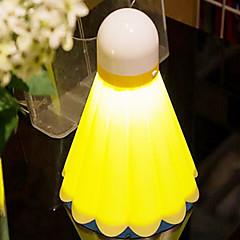 מנורת הלילה הוביל צורת בדמינטון טעינת USB