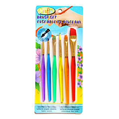 Painting Paint Brushes,Plastic