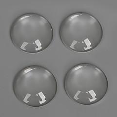 Διακοσμητικά ποτήρι / Plastic Round Shape διαφανής 20Pcs