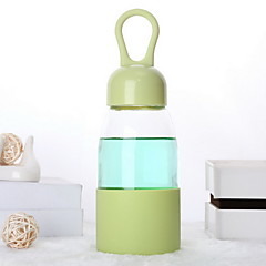 vattendroppe designen transparent borsilikatglas vattenflaska