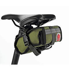 ROSWHEEL® FahrradtascheFahrrad-Sattel-Beutel Wasserdicht / Stoßfest / tragbar / Multifunktions Tasche für das Rad Leinwand / Stoff