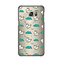 MAYCARI®The Unicorn's Traveling Soft Transparent TPU Back Case for Samsung Galaxy S4/S5/S6/S6Edge/S6 Edge Plus