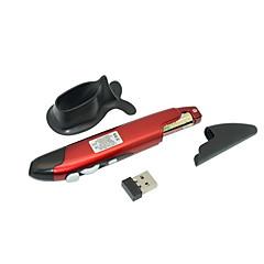 Kynän muotoinen-A luokan ABS-Punainen laserosoitin